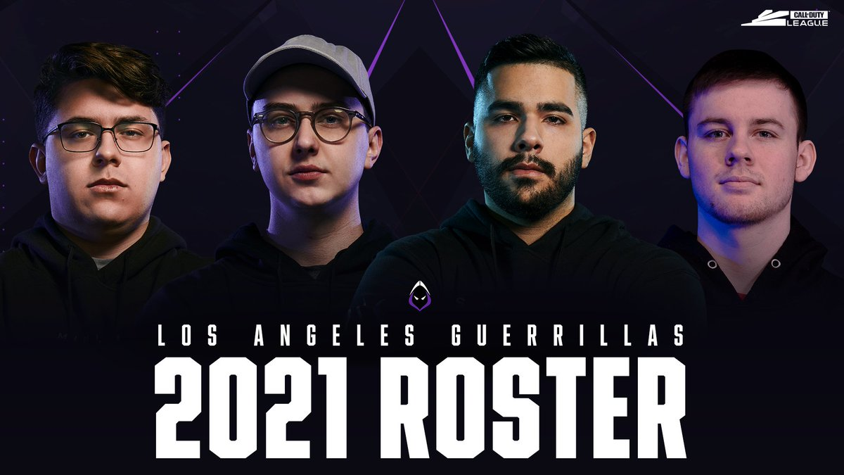 Heading to Los Angeles: @LAGuerrillas have announced their official roster for the #BlackOpsColdWar season.  @Assault @silly702 @Apathy_BZ @VividTheWarrior https://t.co/vTq30G00sL