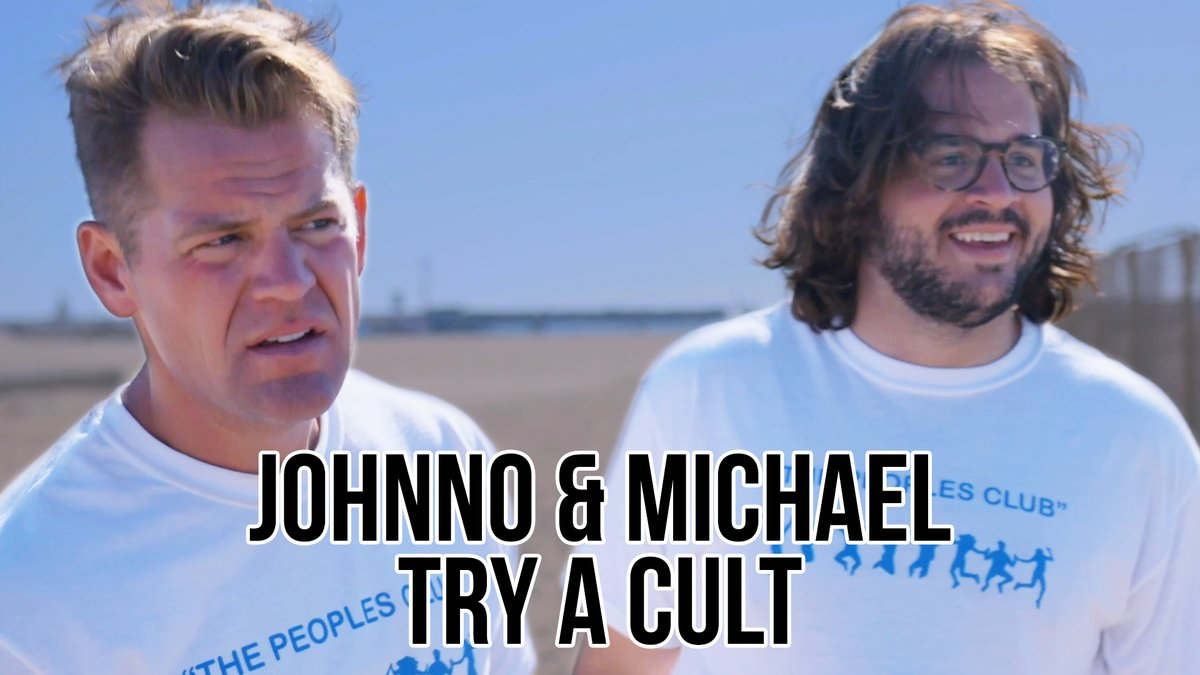 .@Johnno_Wilson and Michael want a change of pace in their lives, so they join a cult. What could possibly go wrong?