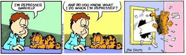 Garfield Thrown Out The Window S Tweet Trendsmap