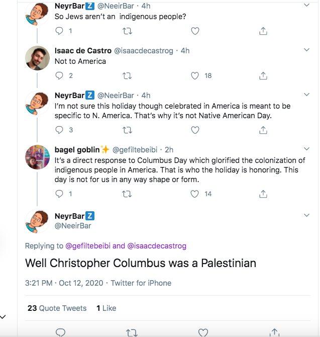 Bad Judaism Takes (@BadJudaismTakes) on Twitter photo 12/10/2020 21:22:52