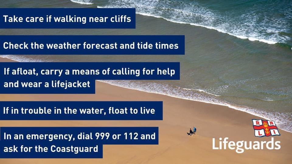 RNLI lifeboat crews remain on call to save lives at sea 24 hours a day. If you're heading to the coast, please follow public health rules and guidance on outdoor meetings and social distancing.  ☎️ In an emergency, dial 999 for the Coastguard  #BeBeachSafe and #RespectTheWater 👇 https://t.co/xWt5nCThoB