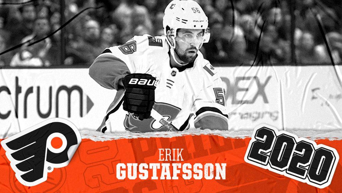 Los @NHLFlyers firman ✍🏻 al defensa @ErkanGustafsson por 1️⃣ temporada y un salario anual de 3M$ #NHLesp #Flyers #LetsGoFlyers #NHLFreeAgency #NHL