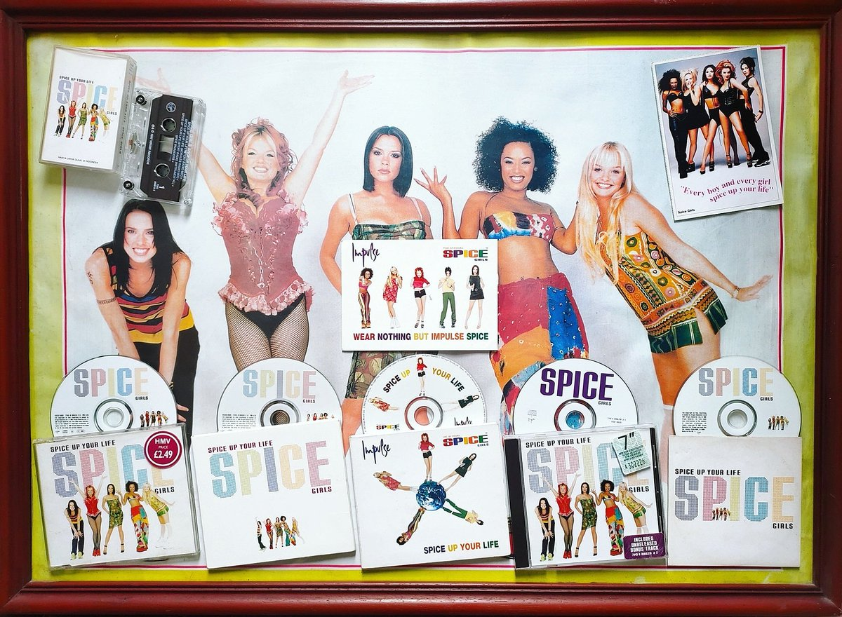 Happy 23 Years Anniversary 'Spice Up Your Life' single On October 13th 1997!, the @spicegirls released 'Spice Up Your Life', the first single to be taken from their second album 'Spiceworld'. 'Spice Up Your LIfe' reached #1 in the UK, making it their 5th #1. #spicegirls https://t.co/oXhxBk6HxQ