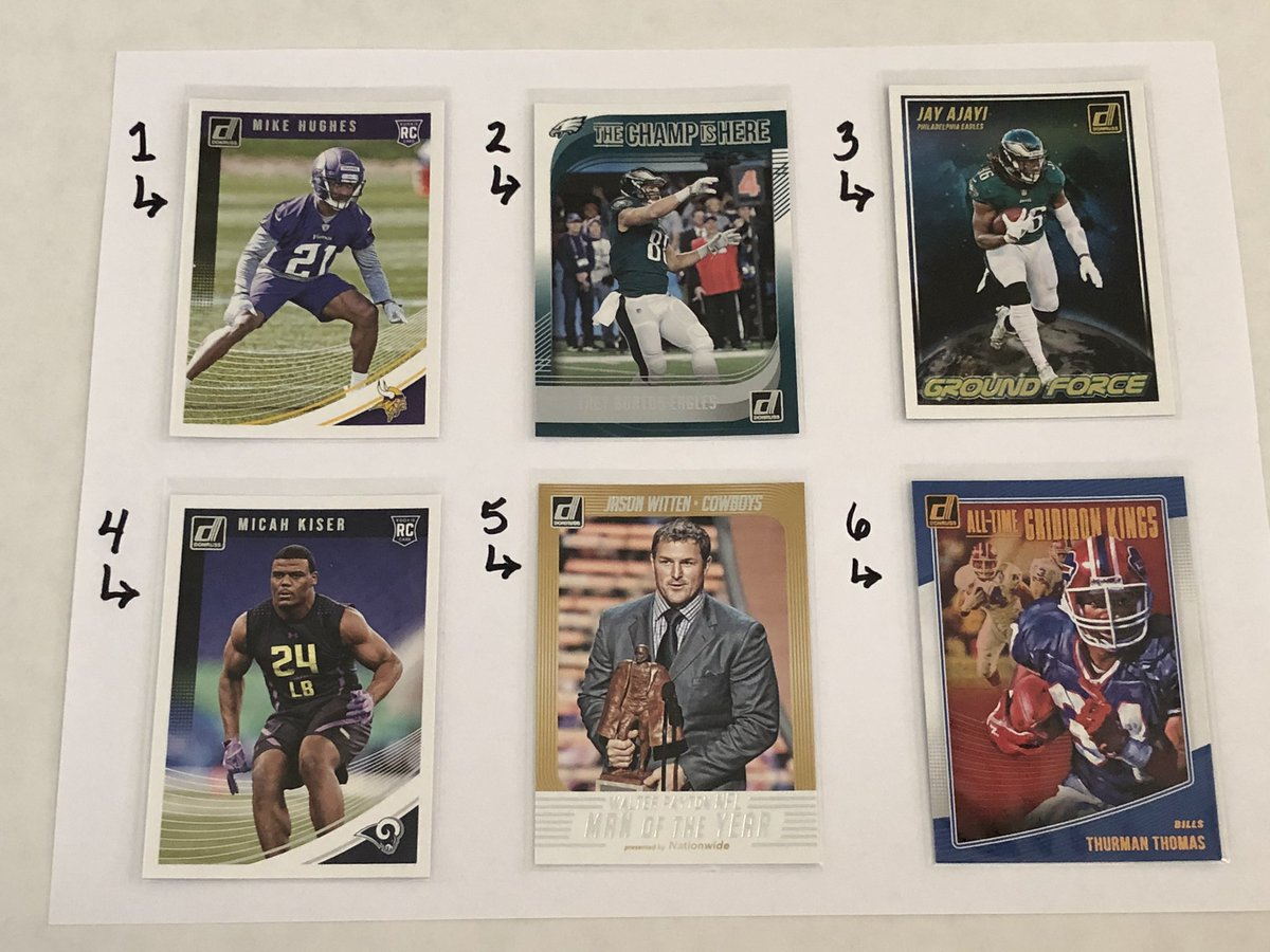 Football Card Claim Sale! $0.50 each + $3 postage regardless the amount of cards you claim. Check my eBay store: clh_collectibles with over 3000 Sportscards listed https://t.co/feL8Ol8BYH #ForSale #FootballCards #SportsCards #TheHobby @HobbyConnector @sports_sell @mlbhobbyconnect https://t.co/5C8mJcQ3x0