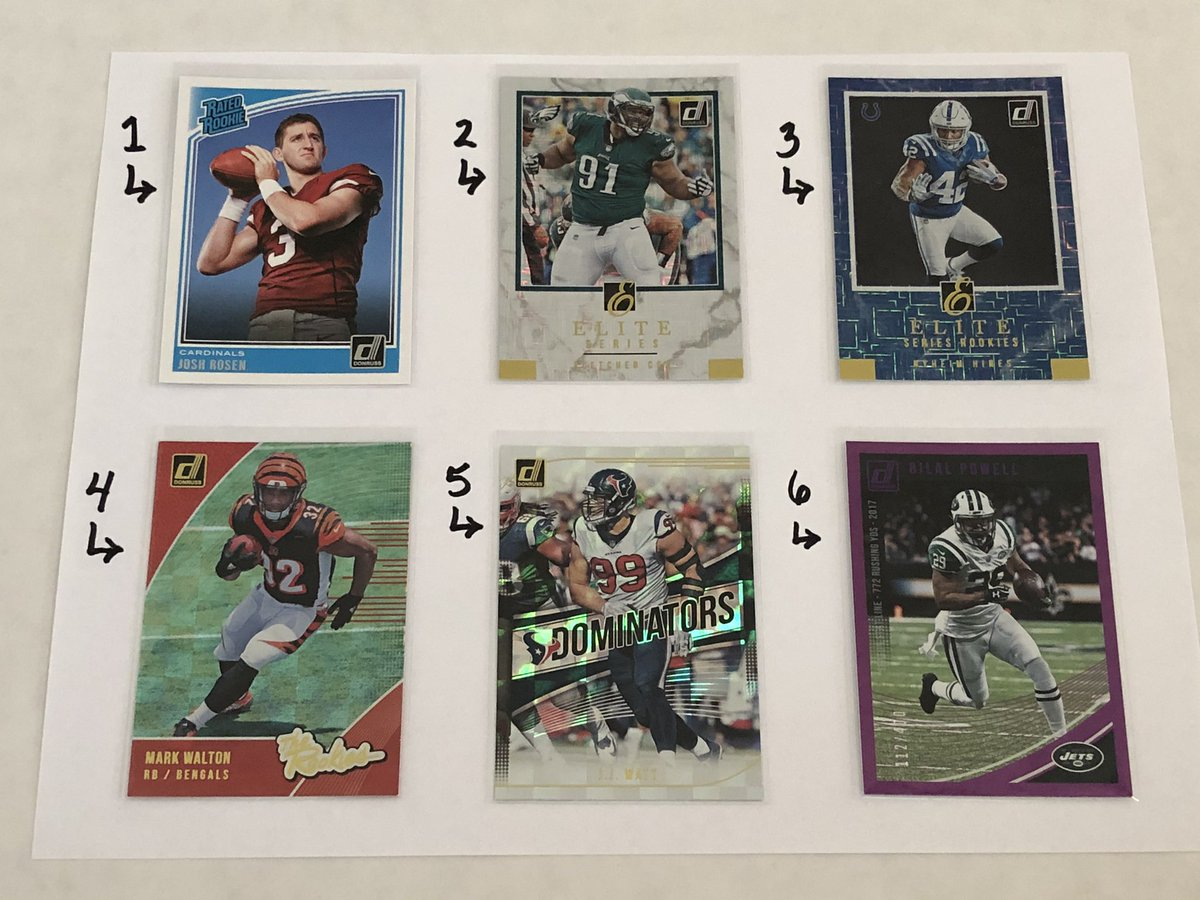 Football Card Claim Sale! $0.50 each + $3 postage regardless the amount of cards you claim. Check my eBay store: clh_collectibles with over 3000 Sportscards listed https://t.co/feL8Ol8BYH #ForSale #FootballCards #SportsCards #TheHobby @HobbyConnector @sports_sell @mlbhobbyconnect https://t.co/plPzWhIZQ0