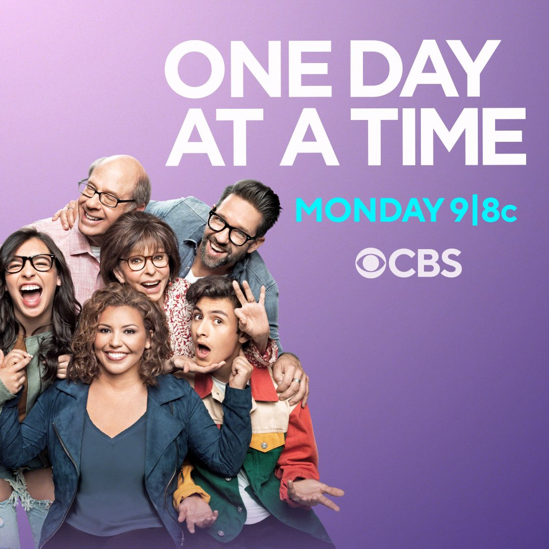 #ODAATISBACK with its network debut! On @CBS at 9pm tonight, fall in love with so many of my fav people. @OneDayAtATime @everythingloria @Isabella_Gomez @JustinaMachado #ODAAT https://t.co/d3QqSVMCRU