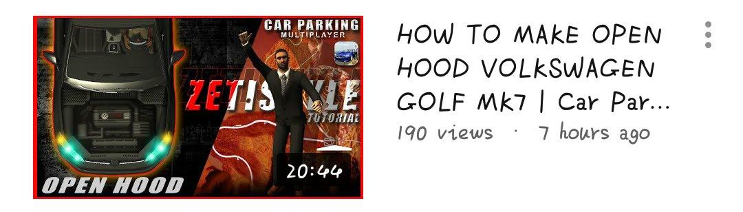 Car Parking Multiplayer 📌 | zeti • back to open hood• #CarParkingMultiplayer #CPM #Gaming #Gameplay #Game #Openhood #Livery #Widebody #LibertyWalk #Tutorial #RustyDecals #YouTuber #YoutubeGaming #zeti #VolkswagenGolfMk7 https://t.co/oBVQCYqIeI