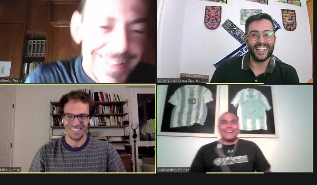 Hoy hemos estado @Alberto03191867 y yo en Kekoa Sports entrevistando a Mikel Alonso y Juan Gómez #errealadegijón #RealSociedad #CDTenerife #atleti #bolton #RiverPlate #RealUnion #futbol #Entrevista #YouTube #