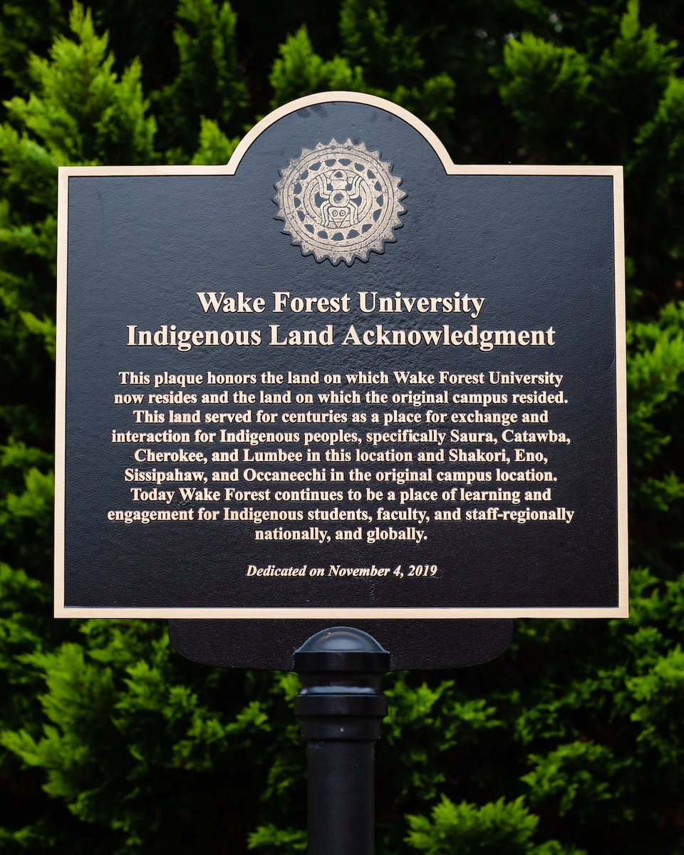 This is a nice gesture. How about Wake Forest acknowledging the city that it has resided in since the 1950s? Wake needs to spread some of its wealth to the many low-income neighborhoods in WSNC. Or packs their bags and head back to Wake Forest, NC or down to Charlotte!