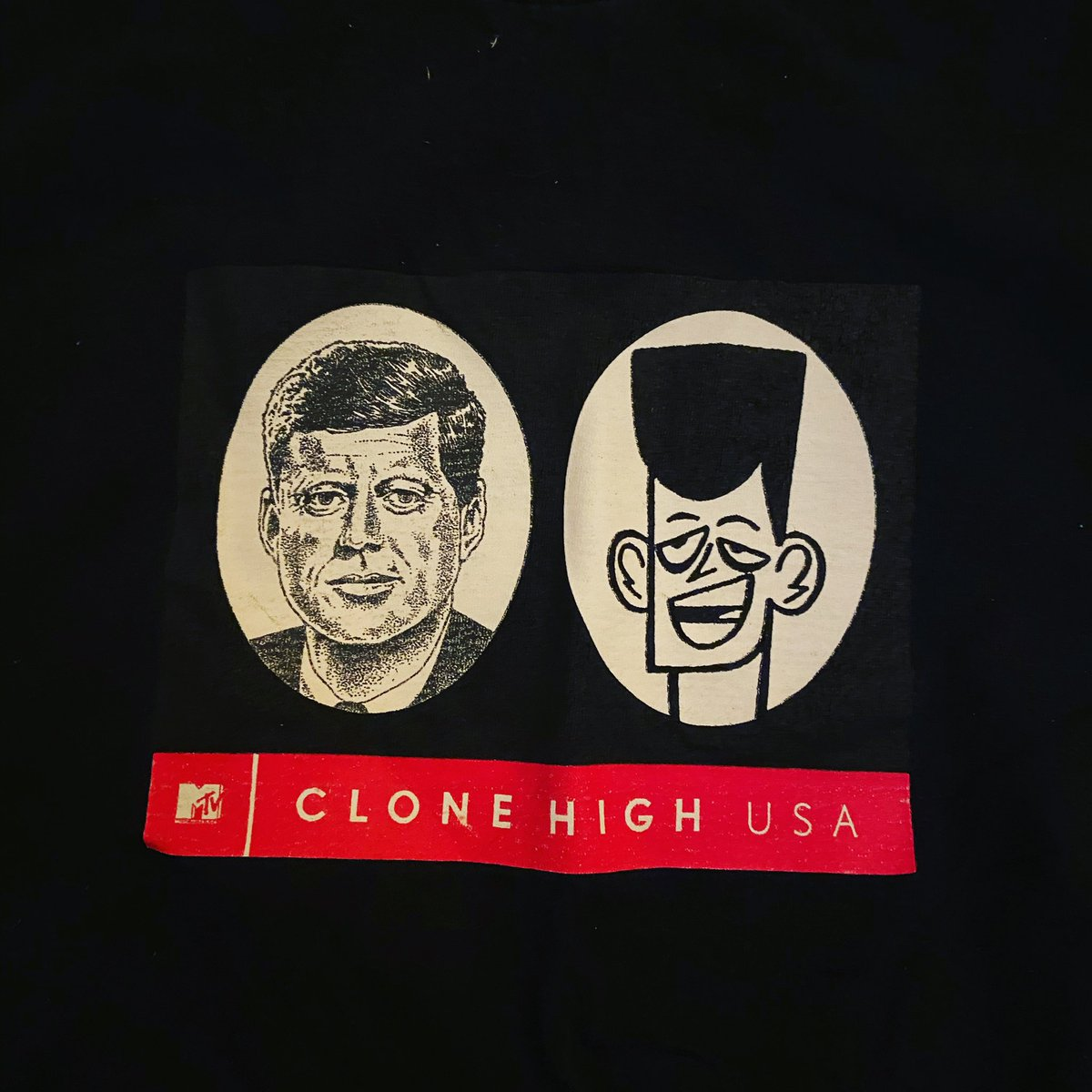 Abandoned Pools On Twitter Found This T Shirt Today Chrizmillr Clonehigh Clonehighjfk Nothingbadeverhappenstothekennedys