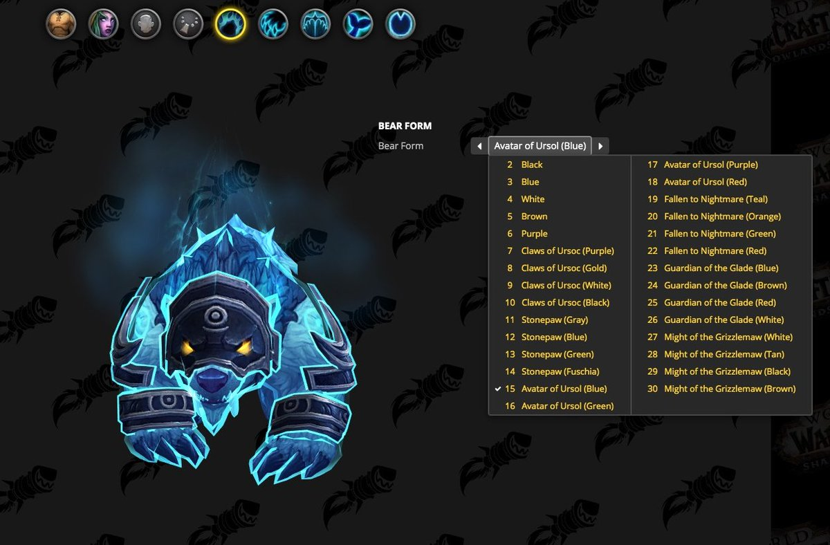 Wowhead On Twitter We Re Excited To Announce That We Ve Updated The Look Of Our Shadowlands Dressing Room With Wow S Own Customization System Receiving An Overhaul It Felt Like The Right Time To