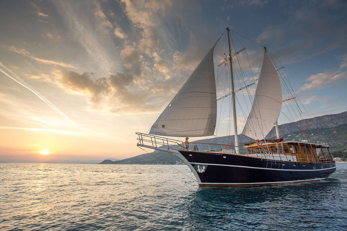#LuxuryGullet #Cruise in the Croatian #Adriatic with 24.5m ALTAIR: https://t.co/nd1KfO7h5e https://t.co/RCv4BKEAC3