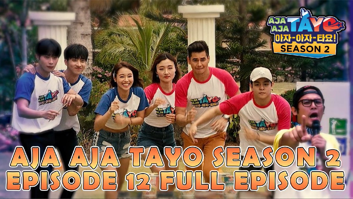 Premiering now: Aja Aja Tayo Full Episode 12 Season Finale  Link: https://t.co/fbENowHrTU  Subscribe to ShowBT Entertainment YouTube Channel for more videos: https://t.co/w5zA39FSz0  #ajaajatayo #ajaajatayos2 #aats2 https://t.co/Wi5HmR5X5F