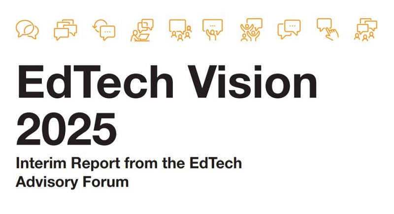 EdTech Vision 2025 Interim Report released by @EdtechukHQ and The EdTech Advisory Forum  https://t.co/ZAL27mwq6w  @EdnFoundation  @EdtechDemo #globaledtech @ty_goddard #edtech #edutwitter #elearning #hybridlearning https://t.co/sRSwxs2P2c