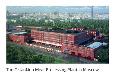 test Twitter Media - RT @TheAshkenazi: Ostankino Meat processing Plant in Moscow  #Belize https://t.co/VrGAmczS7I