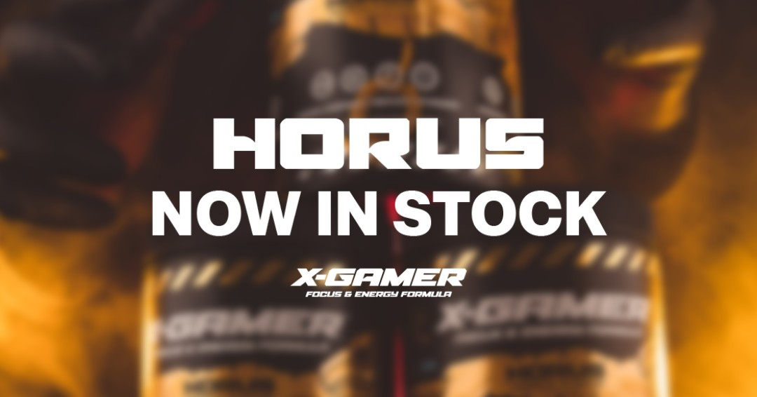 Your eyes are not deceiving you.. Horus is back in stock!!   #XGamerenergy #XGamer #Horus #Energy https://t.co/x72kSy8WDy