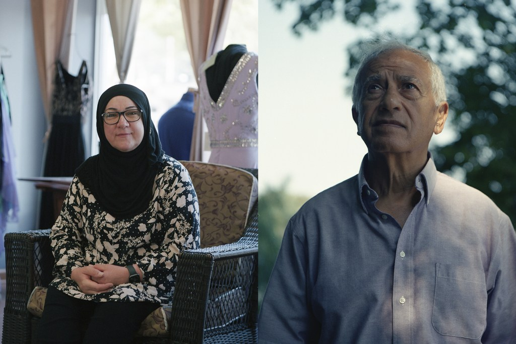 Photographer Jaafar Alnabi slowed things down for a recent series of portraits of #Iraqi Americans who make #Minnesota their home. Read more here: iraq-solidarity.blogspot.com/2020/10/new-ex…
