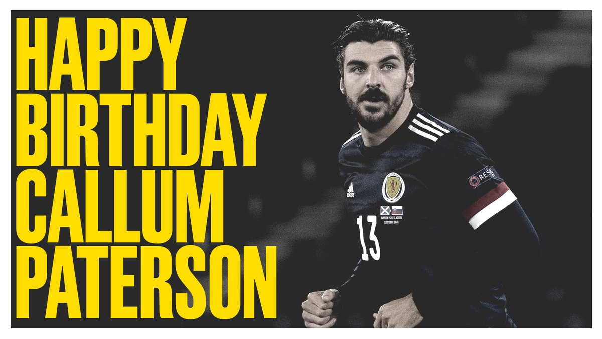 🎂 | Wishing a very Happy Birthday to @Callump7 🙌🏴 Have a good one, Callum!