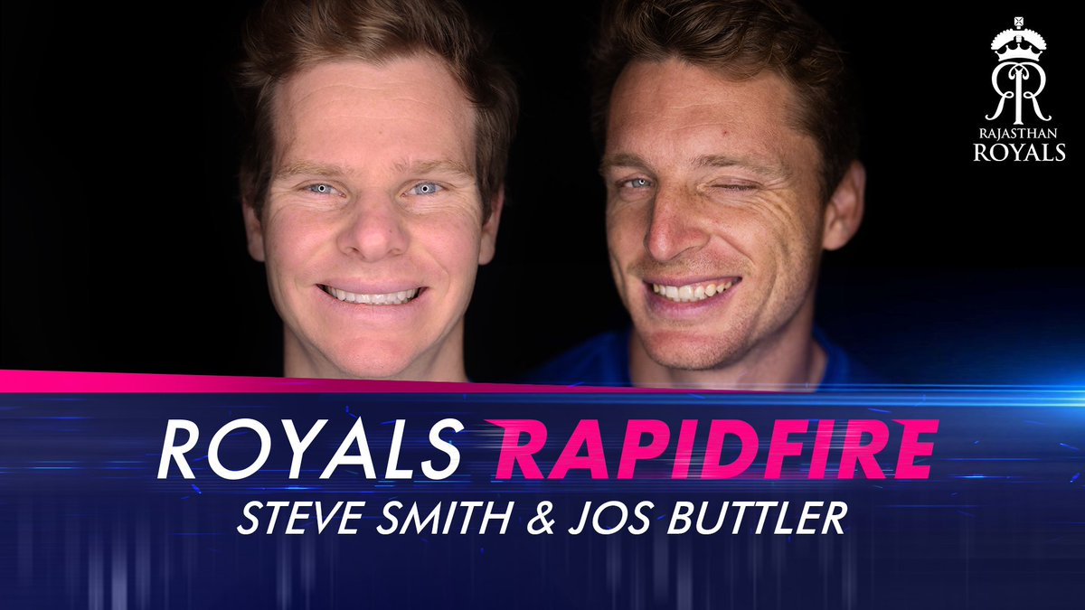 Spoiler Alert 🚨  Smudge & Jos are hilarious! 😂  #HallaBol | #RoyalsFamily | @josbuttler | @stevesmith49