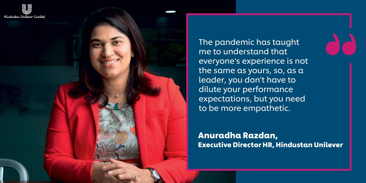 With extensive experience and insights into keeping HR a business-oriented but empathetic endeavour, Anuradha Razdan is a true inspiration for us. Read her interview with @BT_India https://t.co/Tj6D8ybe5f #PeopleWithPurpose https://t.co/WQ8FHer2wg