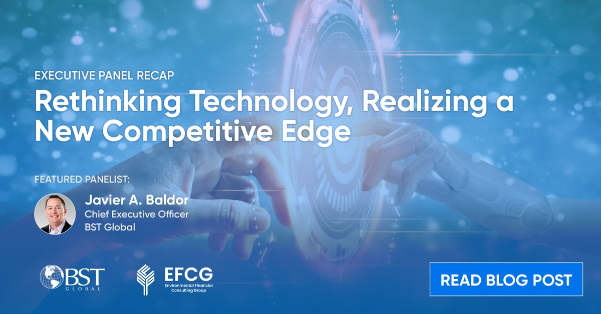 "test Twitter Media - EFCG hosted the Executive Leadership conference session ""Rethinking Technology, Realizing a New Competitive Edge."" BST Global's CEO @JavierABaldor shared his vision for the AEC industry ahead. Read Blog Post: https://t.co/mI5mparYE2 https://t.co/Wb3iJZHHER"