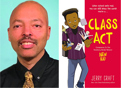 test Twitter Media - Welcome Jerry Craft to our Virtual Book Tour! The award winning author talked to us about his new graphic novel Class Act, a companion book to the 2020 Newbery Medal title, New Kid. Visit our blog for the interview and more. https://t.co/Qa13ChJu7W @JerryCraft @HarperCollinsCh https://t.co/yltU95O5q9