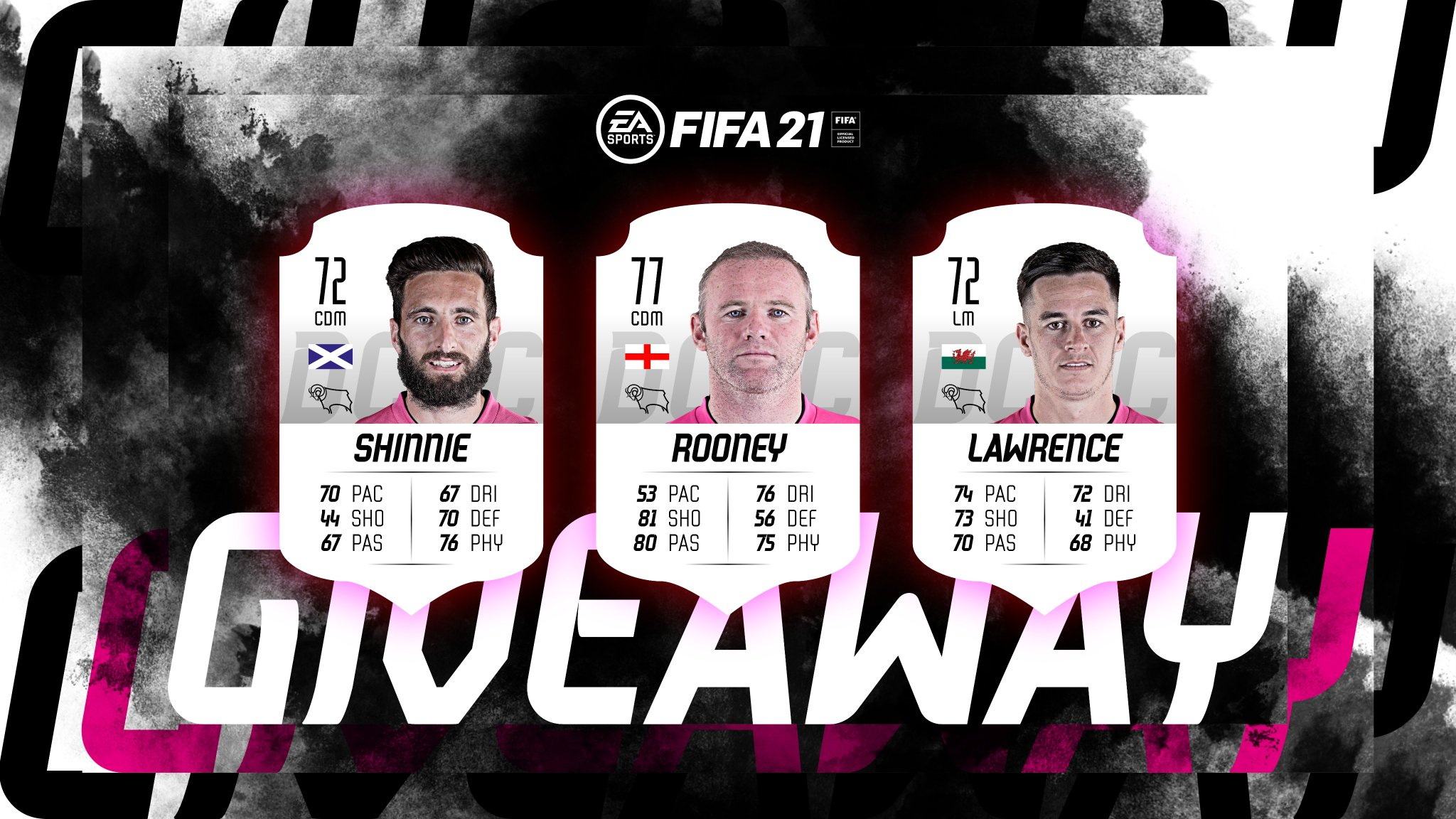 Derby County On Twitter Want To Win A Derby County Copy Of Fifa21 On Playstation 4 Rt This Post Before Midday On Friday Tag Mates You D Beat At