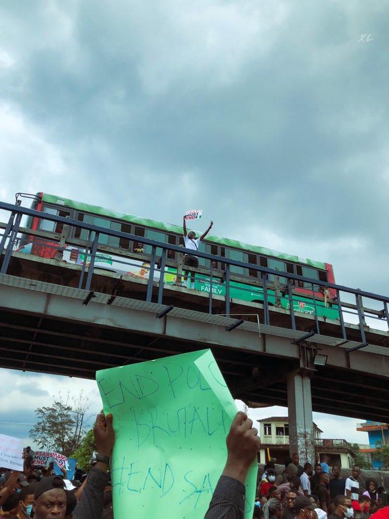 No Talk Anything, Just Retweet! #SaraMustEnd #SarsMustEndNow ✊🏾🇳🇬 #PhProtest