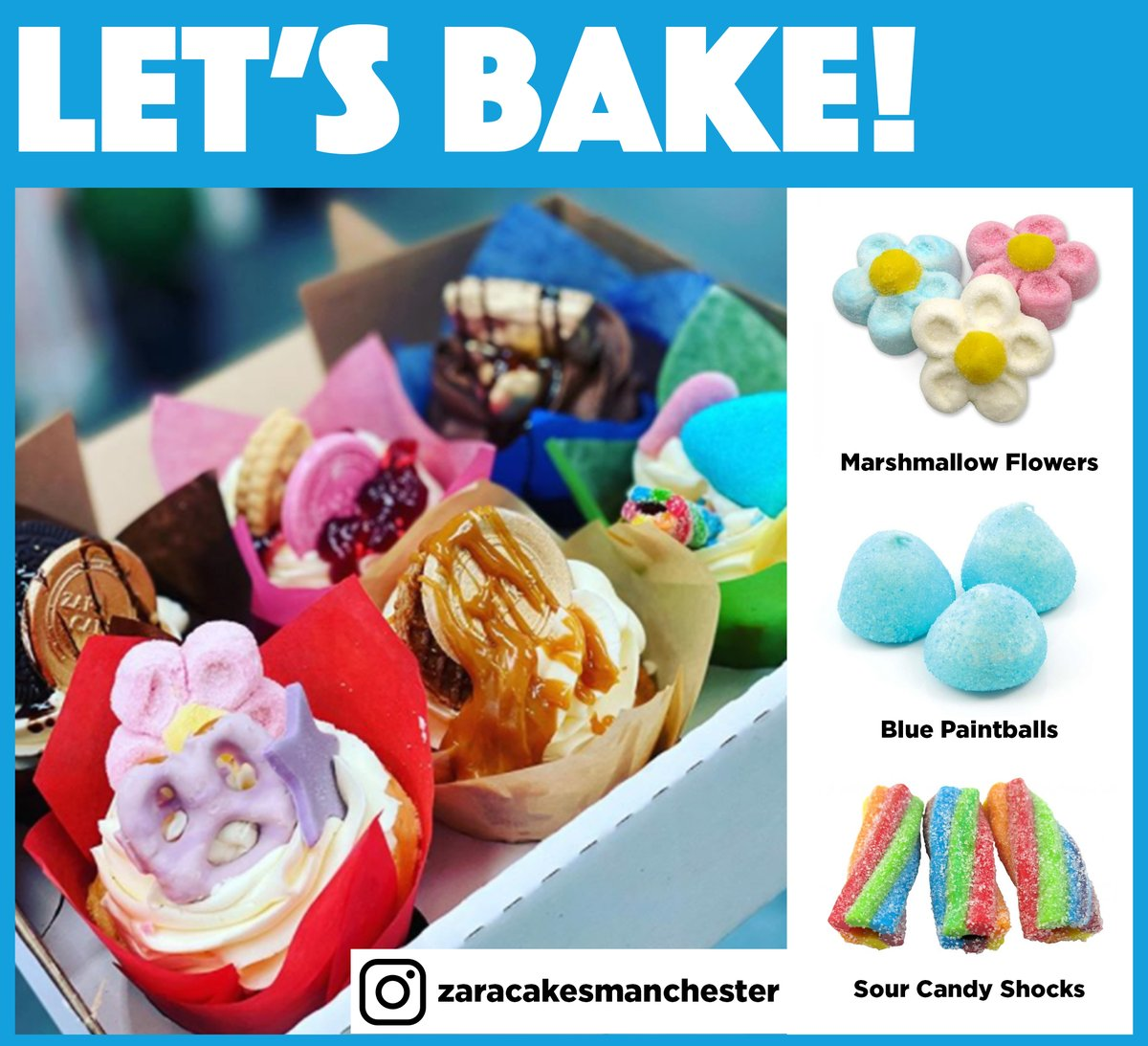 Bake Off is back on our screens tonight and it's time to check out another amazing creation! 👀  @CakesZara uses different pick and mix to make her cupcakes stand out from the rest, and we love them!   Check out our full range of pick and mix her 👉 https://t.co/lSy2qB2iqY https://t.co/Rm4lKurPRn