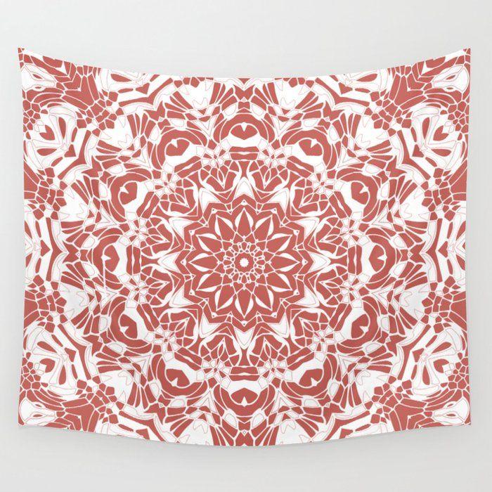 Desert Rose and White Mandala Wall Tapestry 30% OFF - available in 3 sizes » https://t.co/Lkzooft98V  #mandala #mandalas #mandalaart #kaleidoscope #tapestry #dormroom #colorfulhome https://t.co/Phwrzxyoio
