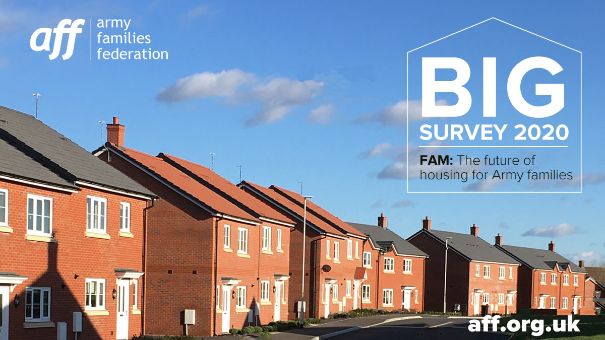 🏠 We've been gathering your views on the future of Army housing … the pros and the cons. It's not too late to have your say – but hurry, our #BigSurvey2020 closes at midnight on Monday 19 October… 🔗 surveymonkey.co.uk/r/bigsurvey2020