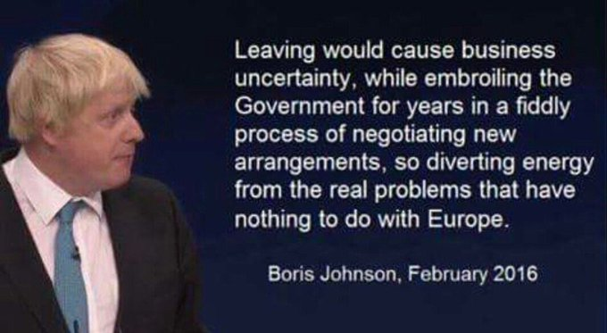 There's no cure for being a c***! #LiarJohnson  #ToriesOut #BorisHasFailedtheNation #BrexitReality #ToryIncompetence https://t.co/ITNwsAeshQ