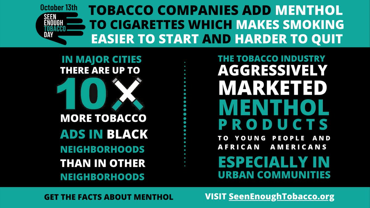 Image for the Tweet beginning: We have #SeenEnoughTobacco and we