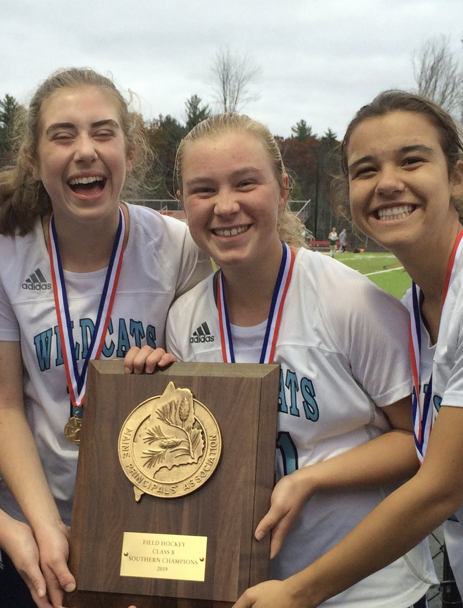 test Twitter Media - Let's celebrate the 2020 Wildcat Field Hockey Captains: Gemma Hopkins, Lindsey White and Christina Dargie! This senior class has gone 54-8-2, winning 3 straight Class B South Championships! Thank you for your leadership on and off the field! 🏑🏑🏑🎉 @YHSWildcats #VarsityMaine https://t.co/7u8QiPFtsk