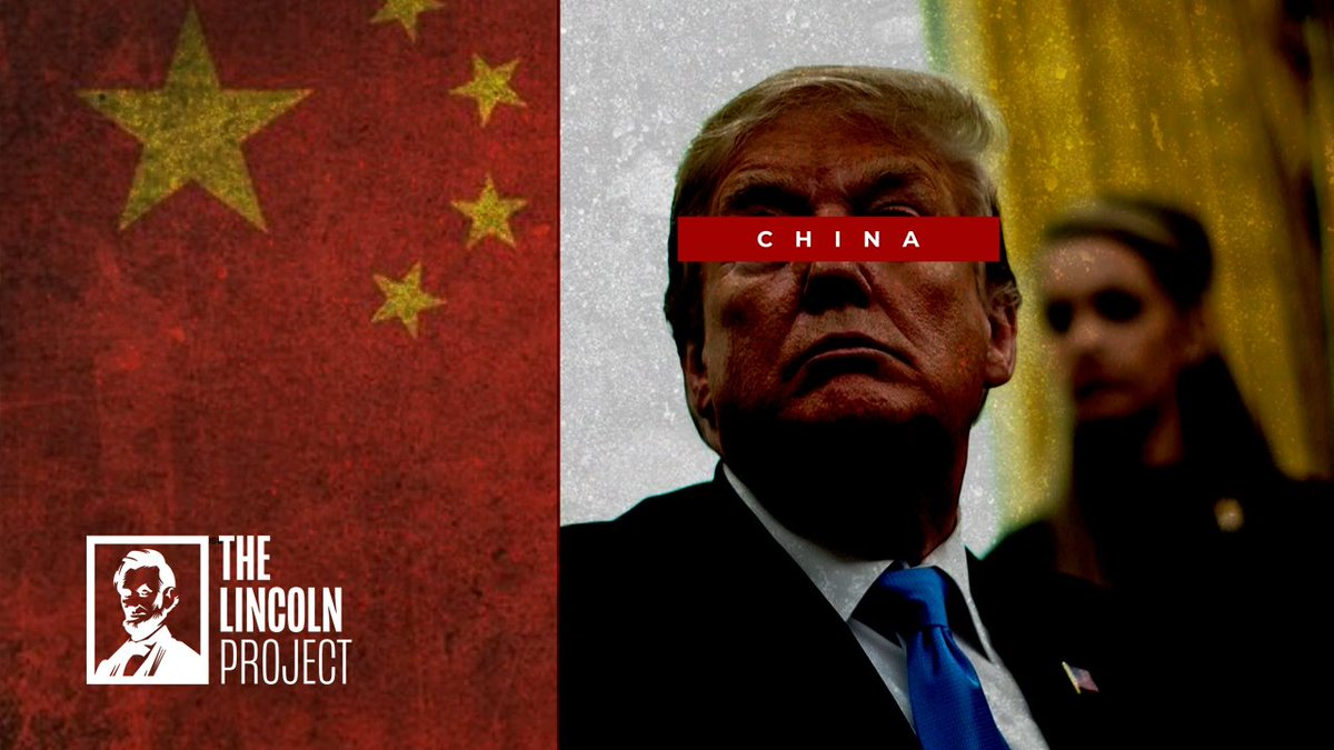 While the China and Trump news is being thrown around, just a reminder of what we already knew about those two: