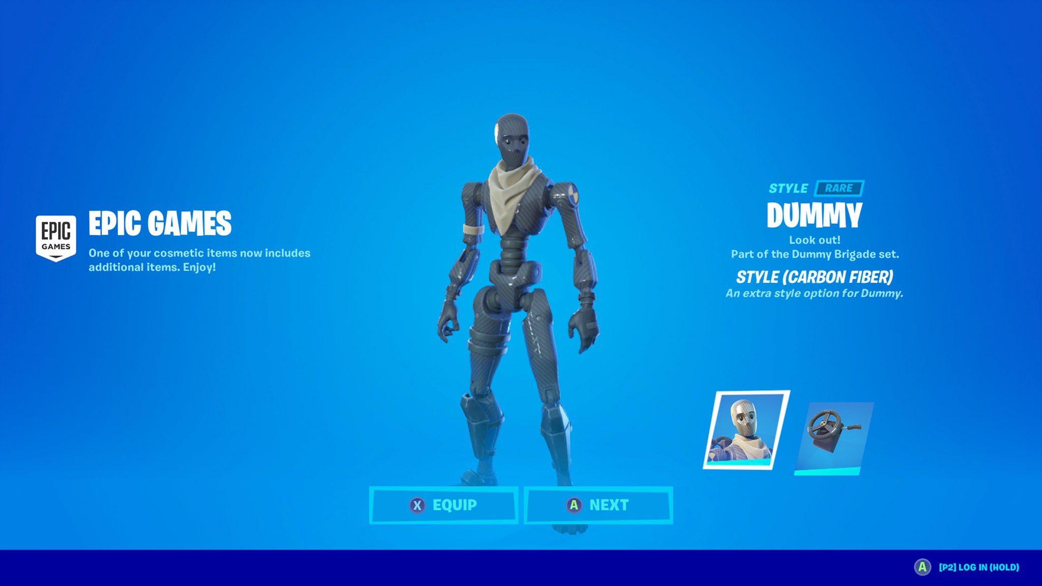 Dummy Skin: Fortnite