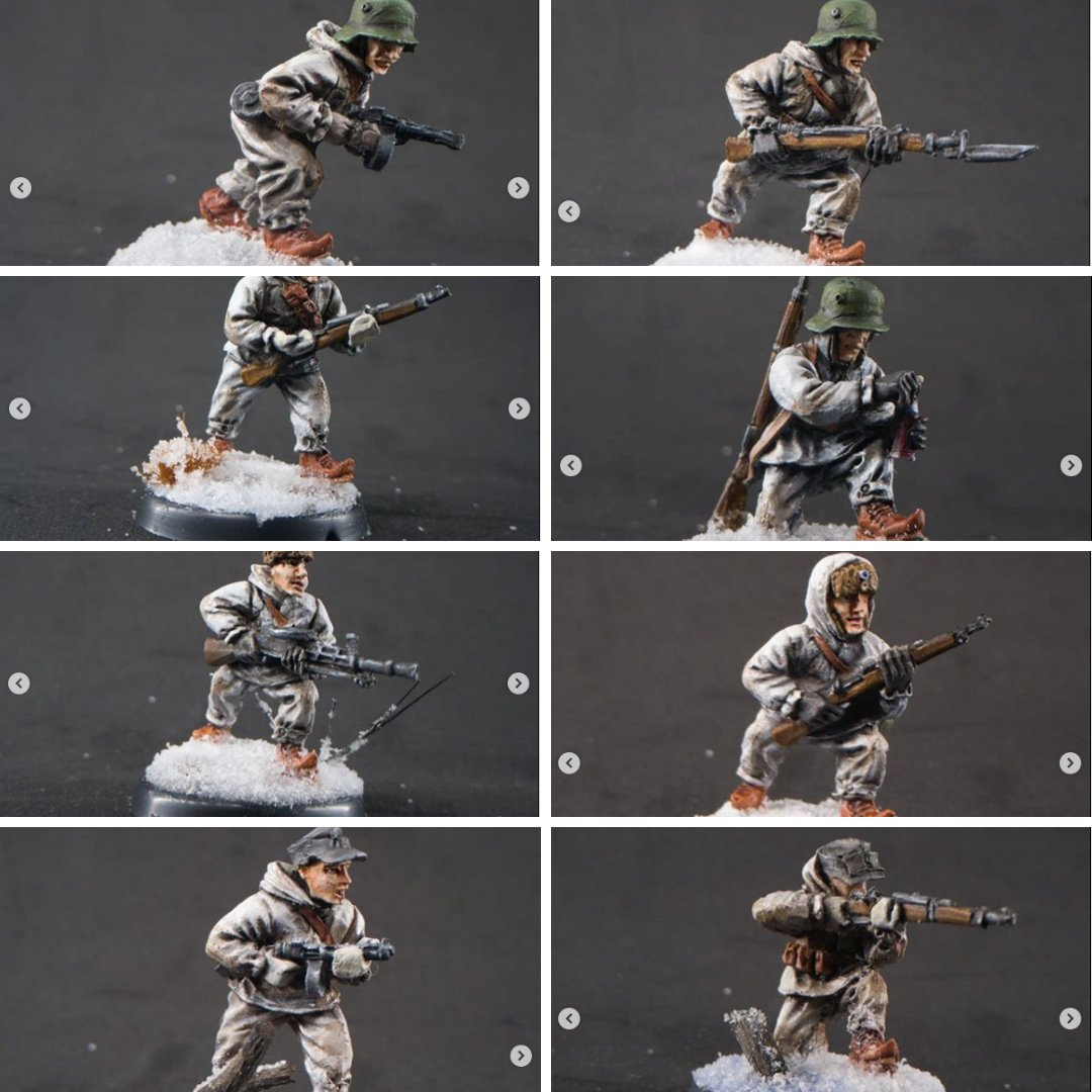 Gaddis Gaming Finns 10 man Infantry sample . miniatures painted by manel barros silva #EMPIRESFALL #gaddisgaming #finns #ww2 #wargame #tabletopgaming #miniatures #ww2games #ww2wargaming #paintingminiatures #28mm  #28mmminiatures #wargameminiaturesfinland #miniaturewargaming https://t.co/I071nz11jM