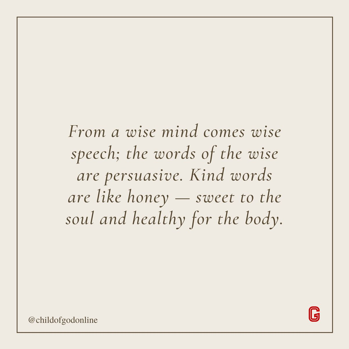 Kind words can heal the heart and mind.  #ChildOfGod #AlmightyGod #God #GodFirst #Christian #Jewish #Muslims #Religion #Faith #Blessings #GodIsLove #GodsPlan #Prayers #Love #Soul #Health https://t.co/xqxngDl4uq
