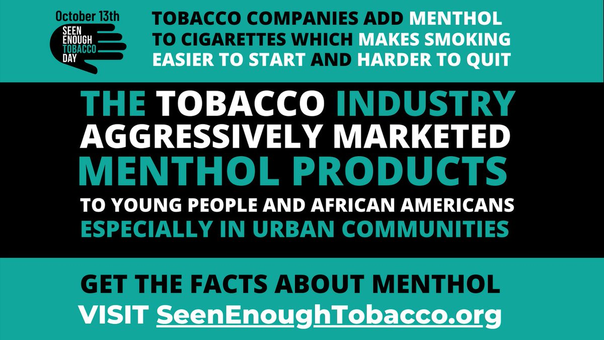 Image for the Tweet beginning: #SeenEnoughTobacco Day in New York