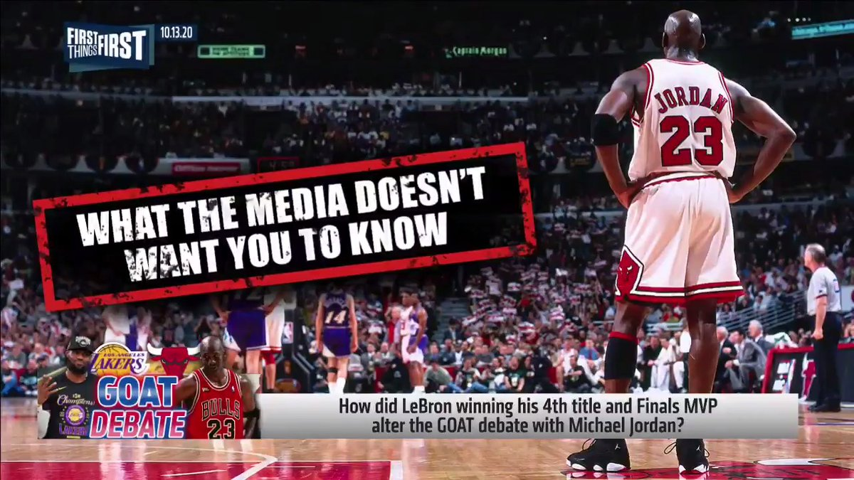 "I didn't want to have to do this, but my colleagues have left me no choice. I present, ""What the Media Doesn't Want You to Know about Michael Jordan."""
