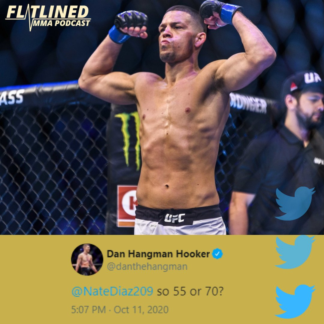 Dan Hooker calls out Nate Diaz. Is this a fight you'd like to see? 🔥 . . . #ufc #lightweight #welterweight #danhooker #natediaz #kamaruusman #khabibnurmagomedov #justingaethje #gilbertburns #stockton #fight #mma #danawhite #knockout #striking #submission #octagon https://t.co/yspx11yFQ6