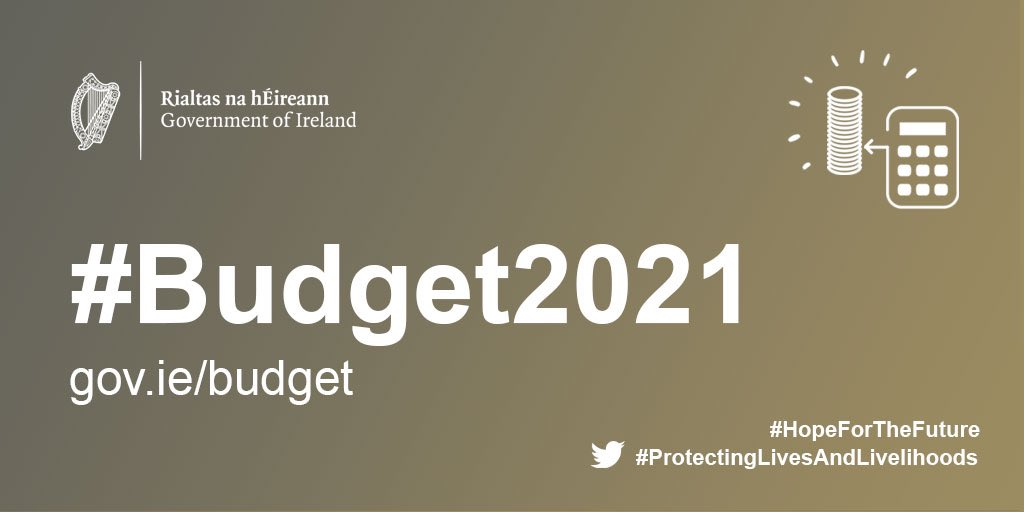 Today's Budget is designed to enable enterprise get through #COVID19  It will embed greater investment in Health, Education & Housing while protecting the most vulnerable #Budget2021 #HopeForTheFuture  #ProtectingLivesAndLivelihoods https://t.co/XWWu2Kq66J
