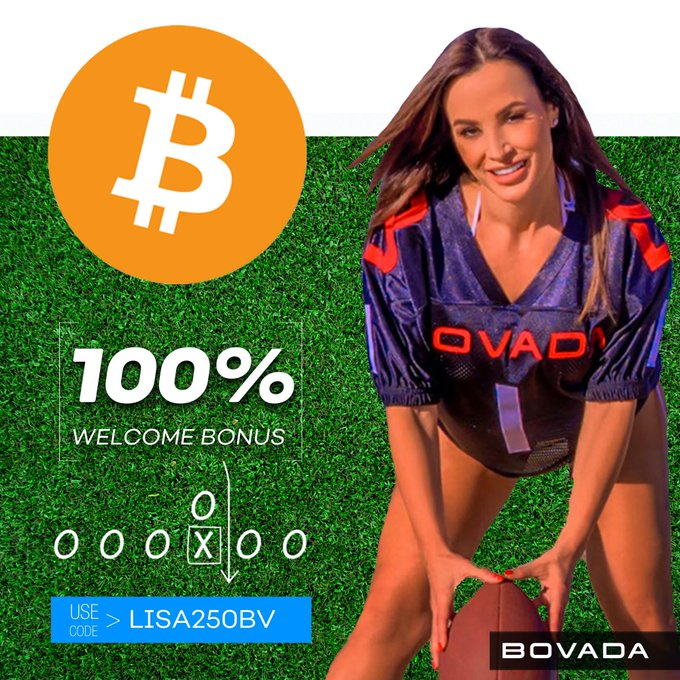 Play your way with your cryptocurrency @BovadaOfficial