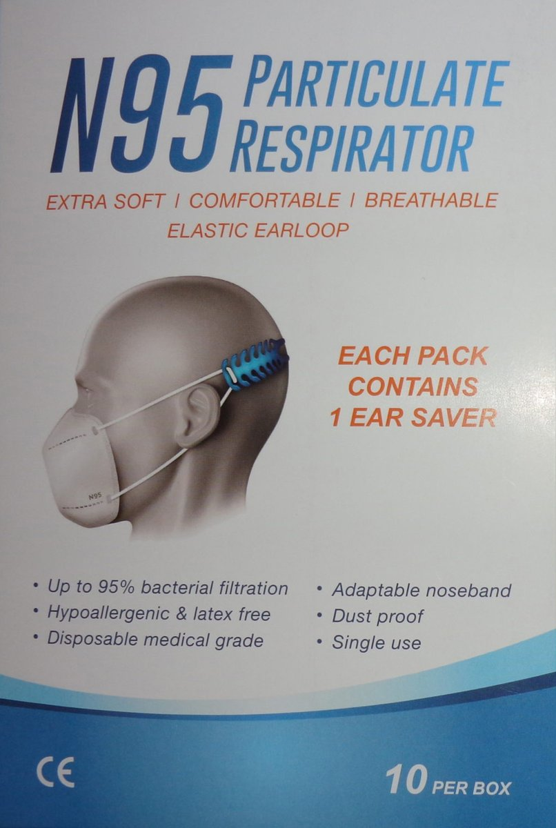 N95 Particulate Respirator  * locally manufactured * FDA approved * earloop * contain 1 ear saver/mask * MOQ 50 units  #MasksForAfrica #facemask #mask #shieldofhonour #ppesupplies #N95 #disposablefacemasks #disposable #PPE https://t.co/jLYqt6slL5