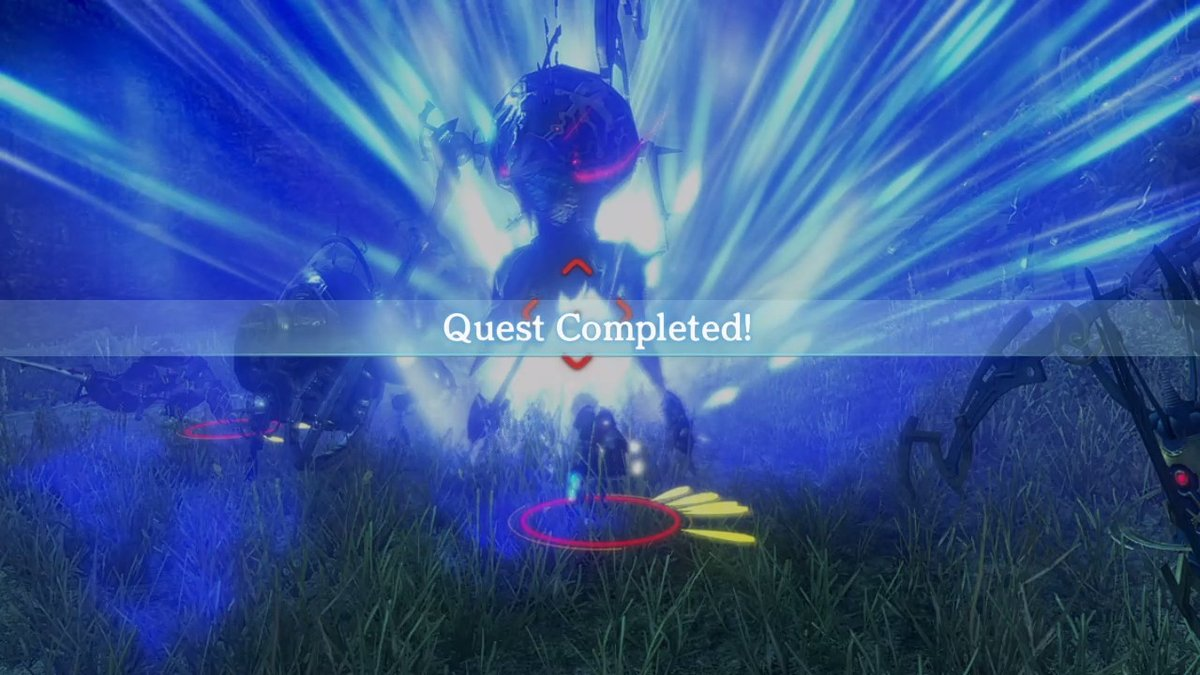 Quest! Completed! #XENOBLADECHRONICLESDEFINITIVEEDITION #NintendoSwitch https://t.co/pLHsBBK17x