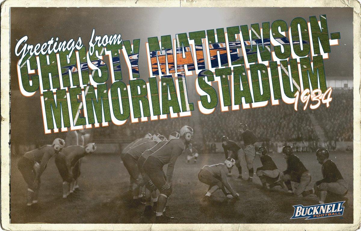 Greetings from Christy Mathewson-Memorial Stadium. #FacilityFriday | #FlashbackFriday