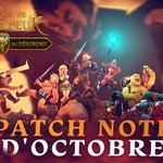 Image for the Tweet beginning: La patch note d'octobre est