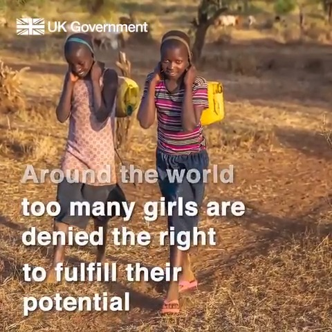 Investing in girls education is the best investment we can make. That's why the UK is working with @GPforEducation to support girls around the world.
