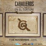 Image for the Tweet beginning: #CaballerosdelaQuema presenta un recital por