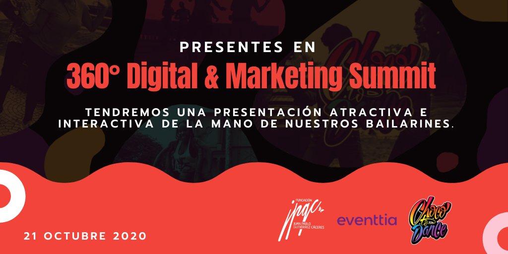 test Twitter Media - Faltan pocos días para ser parte del 360° Digital & Marketing Summit, un #evento de @Eventtia que reúne a expertos en #MarketingDigital. Nos encargaremos de poner en movimiento a los asistentes con el sabor de nuestros #bailarines. https://t.co/qZXMqKccVJ https://t.co/hM1omo3FKH